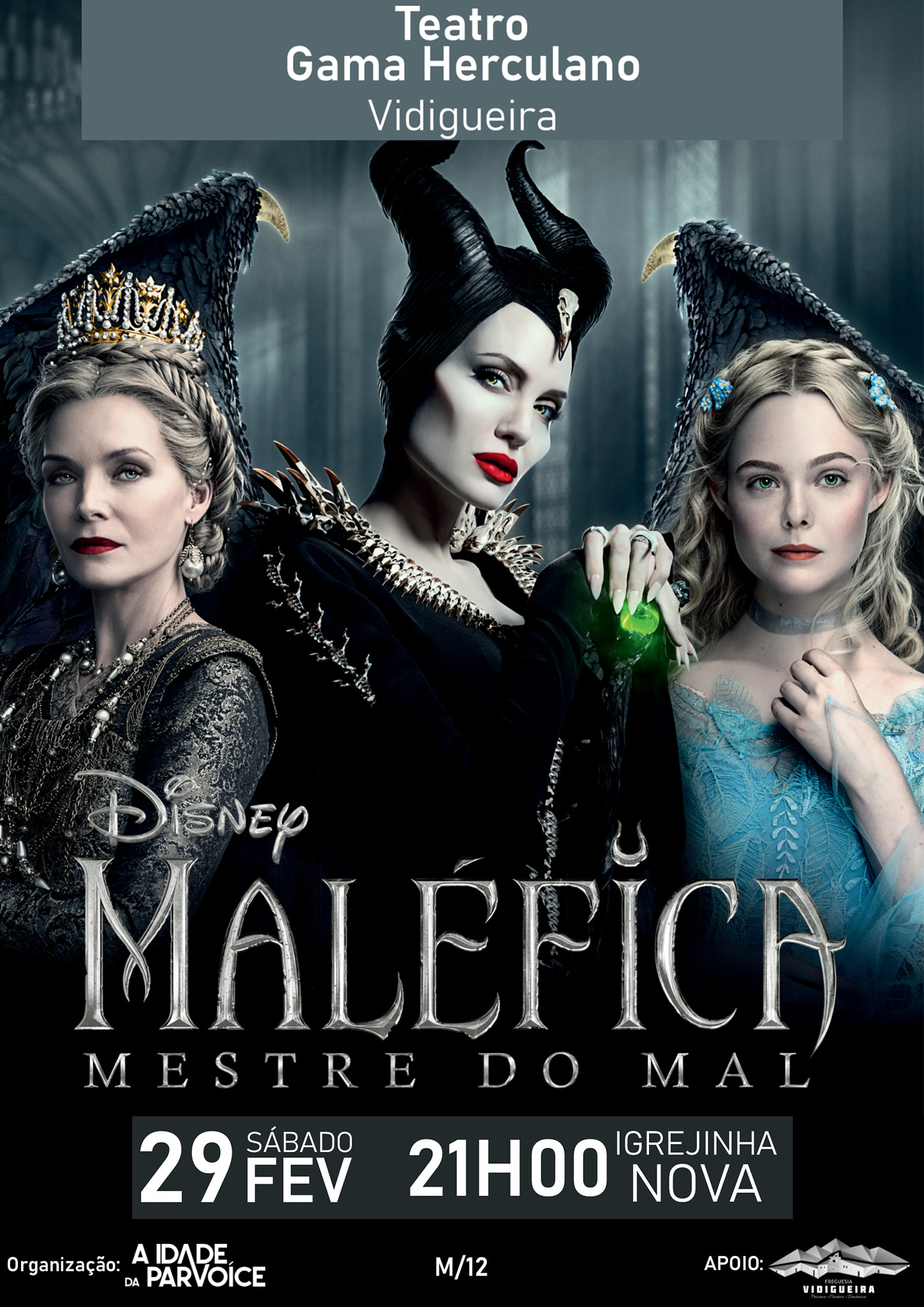 Cartaz do Filme: Maléfica, Mestre do Mal